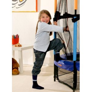 hudora kindertrampolin joey jump 140 cm. Black Bedroom Furniture Sets. Home Design Ideas